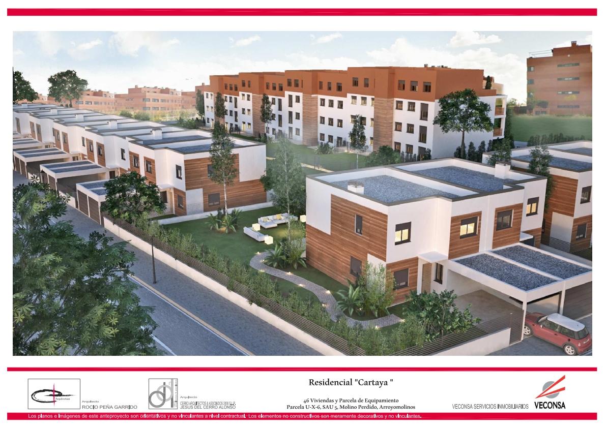 Chalets adosados y pareados residencial cartaya arroyomolinos veconsa - Chalets obra nueva arroyomolinos ...