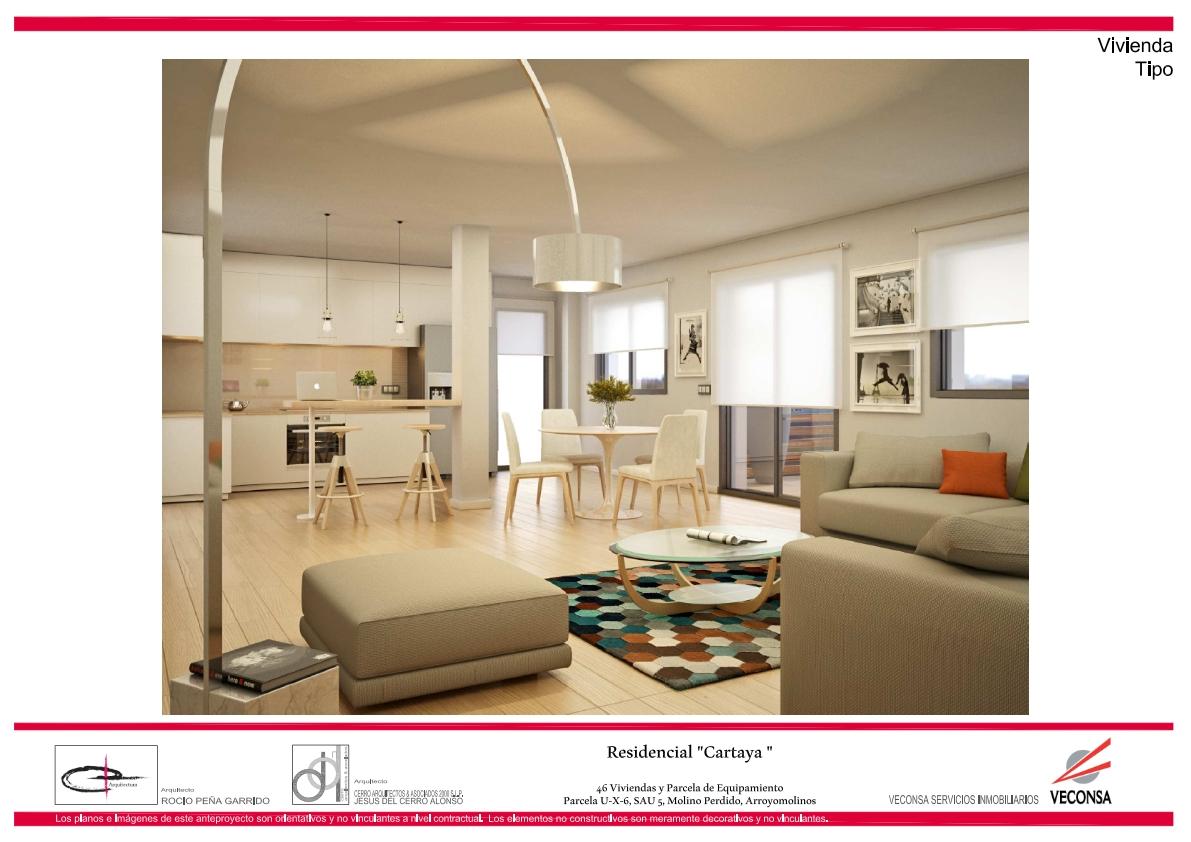 pisos de lujo residencial cartaya arroyomolinos